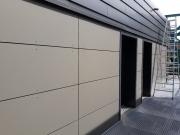 Fassadenverkleidung, Großformatplatten