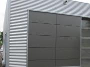 Aluwelle in Kombination mit Großformatplatten