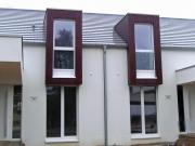 Fassadenverkleidung mit großformatigen Fassadenplatten