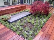 Gründach, Terrassengestaltung