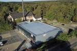 Obj06 Flachdach, Größe ca. 800m² Folienabdichtung, Fassade Aluwelle