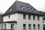 Obj21 Steildach, Wohnhaus, Dacheindeckung Flachdachziegel