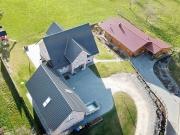 Steildach auf Einfamilienhaus